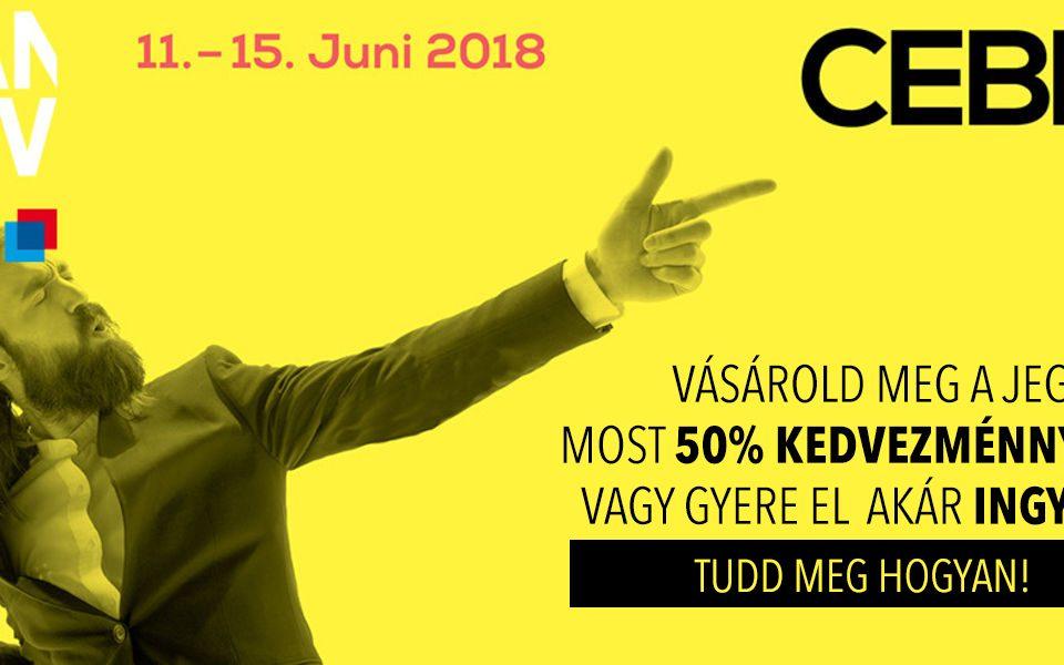 Cebit 2018 kedvezményes jegyvásárlás